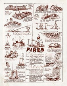 Fires are key to survival…. knowing how to make different fires for different … Fires are key to survival…. knowing how to make different fires for different …,bushcraft Fires are key to survival…. knowing. Survival Life Hacks, Survival Food, Camping Survival, Outdoor Survival, Survival Prepping, Emergency Preparedness, Survival Skills, Camping Hacks, Winter Survival