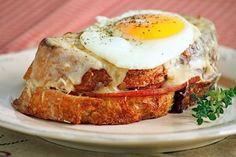 Croque madame: the best thing I ate in Paris! Simple and delicious.