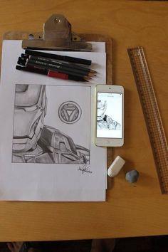 Iron Man version 2 #Sketch