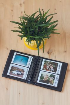 Fujifilm Instax Mini album for 64 photos of your sweet memories. The mini album is the perfect way to keep all your captured moments organised.