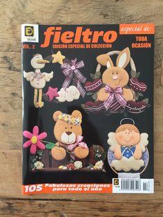FIELTRO  Edición Especial de Colección Vol.02 .: TODA OCASIÓN :. 105 proyectos para todo el año. www.editorialduve.com #fieltro #manualidades