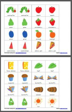 The Very Hungry Caterpillar Match Game  Author:Lauren Hill Platforms:Wind