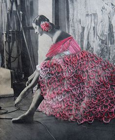 Jose Romussi's Embroidered Photographs Play with Culture and Beauty | Hi-Fructose Magazine