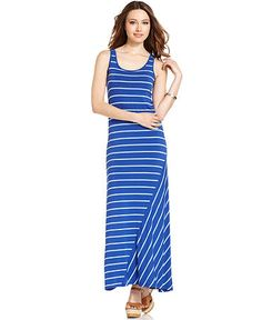 Kensie striped maxi