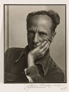 Portrait of Edward Weston Johan Hagemeyer (American, born Netherlands, 1884-1962) Date 1935 Medium Gelatin silver print Dimensions 4 1/2 x 3 5/8 in. Classification Photography Credit Line New Orleans Museum of Art: Museum purchase, Women's Volunteer Committee Fund