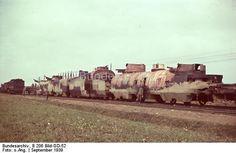 Captured Polish armored train