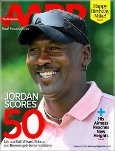 NBA legend Michael Jordan has earned his placement on the cover of AARP. MJ is defiantly doing well for himself as the owner Charlotte Bobcats and engaged to his longtime Cuban girlfriend, Yvette Prieto, 35.