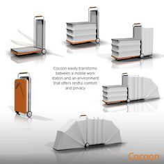 Cocoon makes use of simple and cheap material such as canvas, to offer an affordable yet comfortable shelter for the homeless Being easily collapsible, it