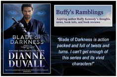 BLADE OF DARKNESS—Now Available in #paperback, #ebook & #audiobook!—https://www.amazon.com/gp/product/B073V23CGT/ref=as_li_tl?ie=UTF8&camp=1789&creative=9325&creativeASIN=B073V23CGT&linkCode=as2&tag=dianduva-20&linkId=39e2eb34e792c44bcf85de867b0b12b2  #paranormalromance #romance #action #humor #paranormal #fantasy