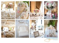 champagne, blush, pale pink and gold wedding colors