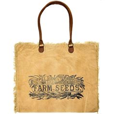 Artisan Maderustic Farm Recycled Canvas Tote