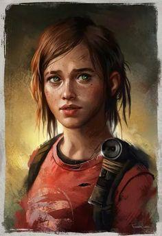 Ellie from Last Of Us by Fernanda Suarez.