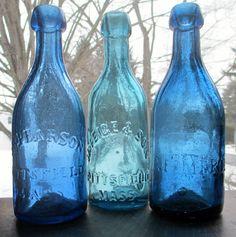 Antique soda bottles ca 1850-1860s ~ Sat 22nd Nov 2014