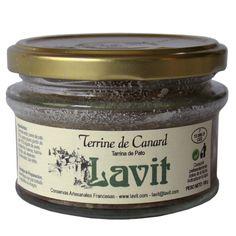 Tarrina de pato 100gr. Lavit
