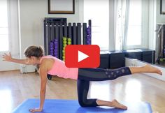 Skip basic crunches. This routine slows down movement so you can focus on firing up your abs. http://greatist.com/move/pilates-workout-video #PilatesAnyone?