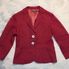 Ann Taylor Petites 2P Blazer Women's Lined Textured Career Cotton  | eBay