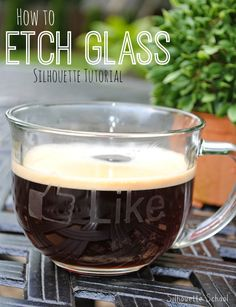How to Etch Glass (Silhouette Tutorial) ~ Silhouette School