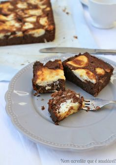 I can not believe is healthy !: Marbled brownies with cream cheese (gluten-free, sugar-free). Cream cheese brownies (gluten and sugar free)
