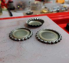 Resin Crafts: Bottle Cap Tutorial - Part One