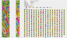 Узоры для вязаных жгутиков-шнуриков 17   biser.info - всё о бисере и бисерном творчестве