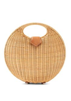 Victoria Circular Wicker Bag by J.McLaughlin