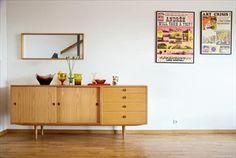 Öresund heter detta sideboard, designat av Börge Mogensen och i produktion sedan 1955.