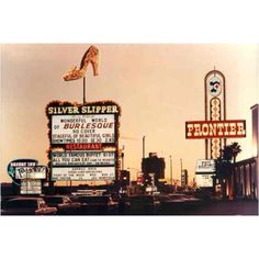 1960's. Old Las Vegas strip. Mom worked at the Desert Inn and the Frontier...dad was at the Silver Slipper.