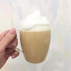 Extra milk foam is available on our tea lattes! Just ask us when you order . gorgeous backdrop provided by PS We sell this glass cup too! Glass Of Milk, Ps, Latte, London, Tableware, Food, Dinnerware, Tablewares, Eten