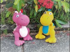 Diy Y Manualidades, Crochet Dinosaur, Amigurumi Doll, Crotchet, Pet Toys, Crochet Toys, Tweety, Dinosaur Stuffed Animal, Make It Yourself