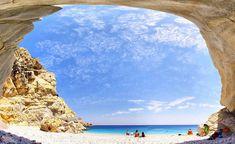 Seychelles beach on Ikaria Greece