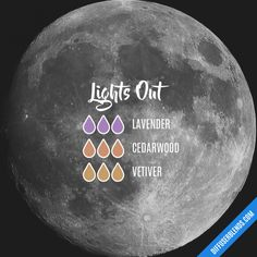 Lights Out - Essential Oil Diffuser Blend