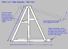 Free Ballista Plans! – Revisited. Wood Shop Projects, Diy Projects, 3 Gif, Baby Room Diy, Weapon Of Mass Destruction, Medieval Weapons, Diy Toys, Woodworking Projects, Old Things