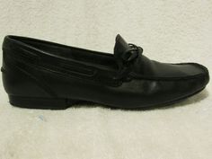 Sz 5 5 M Ralph Lauren Black Loafers | eBay