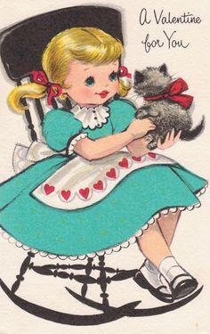 House of Hawthornes: Vintage Valentines Printables 4 U Valentines Greetings, Valentine Greeting Cards, Vintage Valentine Cards, Vintage Greeting Cards, Vintage Postcards, Happy Valentines Day, Christmas Greetings, Birthday Greetings, Vintage Images