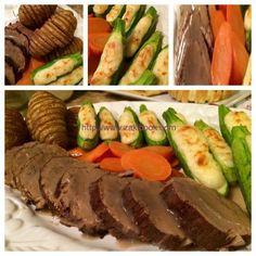 طريقة عمل روستو اللحم بالصور