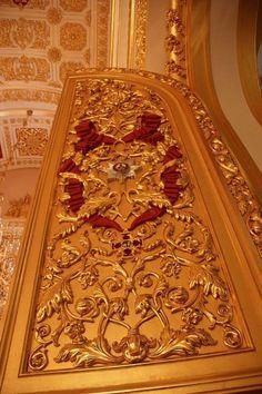 Inside the Moscow Kremlin / No interior do Kremlin de Moscou.