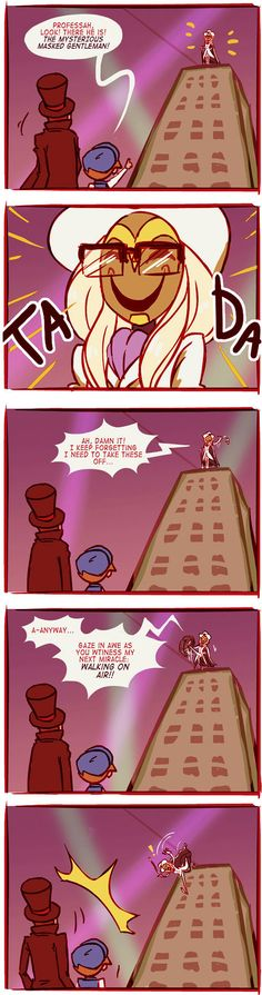 This is funny, though I don't think Randall actually needs galsses to see. XD