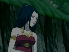 For a fleeting moment, Azula opened up and revealed pain and resentment behind her cold-blooded appearance.