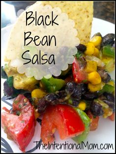 Looking for a fresh and tasty salsa that is also healthy? Loaded with avocados, tomatoes, peppers, corn, onions, and black beans, this is so EASY! Zesty, tangy, fresh, and crisp, this is sure to please!