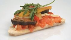 Pizza Rustica Paris Saint-Michel Bruschetta Aubergines ! Avoue tu as as envie de croquer dedans?