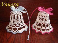 Crochet Christmas, Christmas Knitting, Christmas Tree, Christmas Ornaments, Free Crochet Doily Patterns, Crochet Doilies, Knit Crochet, Tatting, Crochet Earrings