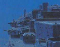 Bismark Ship Wreck - part of history.