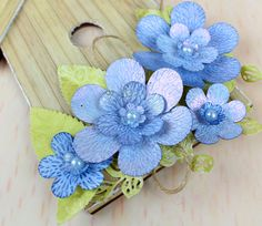 Trio Flowers by Tattered Lace.  For more information visit www.crafting.co.uk