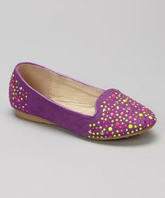 Look at this #zulilyfind! Purple Chimeri Loafer by Marilyn Moda #zulilyfinds