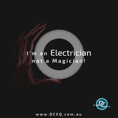 It pays to see a professional - Electrician OR Magician!⠀ ⠀ We are DC Electrical, providing quality electrical and air conditioning install, service and maintenance.⠀ ⠀ Phone: 1300 707 694⠀ Email: service@dceq.com.au⠀ Ares Dc, Professional Electrician, The Magicians, In This Moment, Instagram, Conditioning, Brisbane, Phone, Telephone