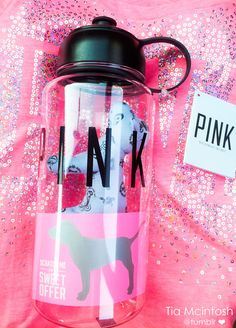I remember buying this water bottle, but I have no idea where it is and I'm not sure where I could have misplaced it. :(