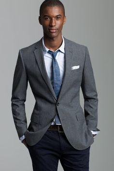 Sportscoat, not as dressy as suit jacket
