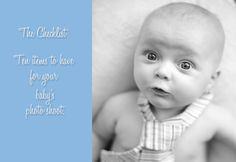 Article:  Photographing babies (wish I would have had this back when I was photographing babies at the hospital!)