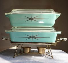 Love this Starburst Pyrex!