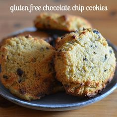 The perfect gluten free chocolate chip cookies